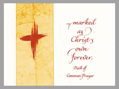 marked as christ's own forever